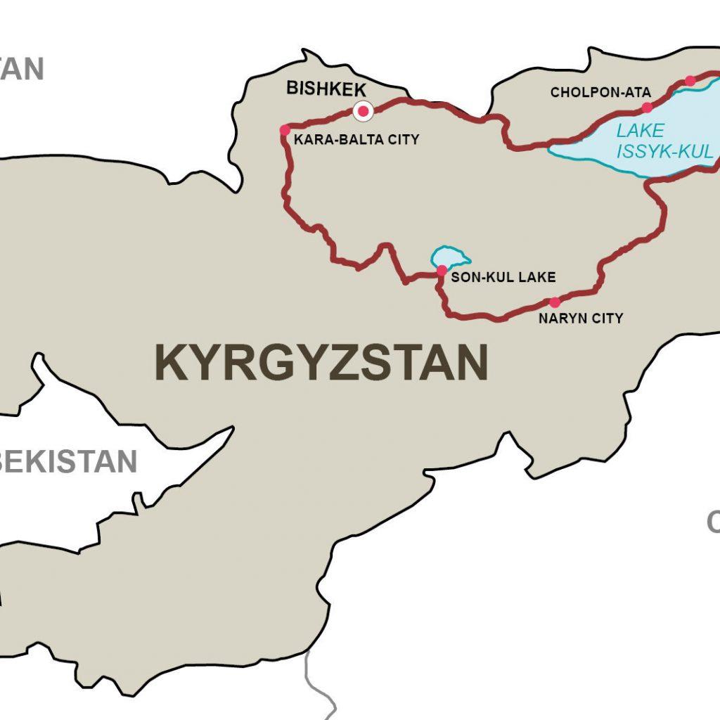 Tien Shan 10 days in Kyrgyztan