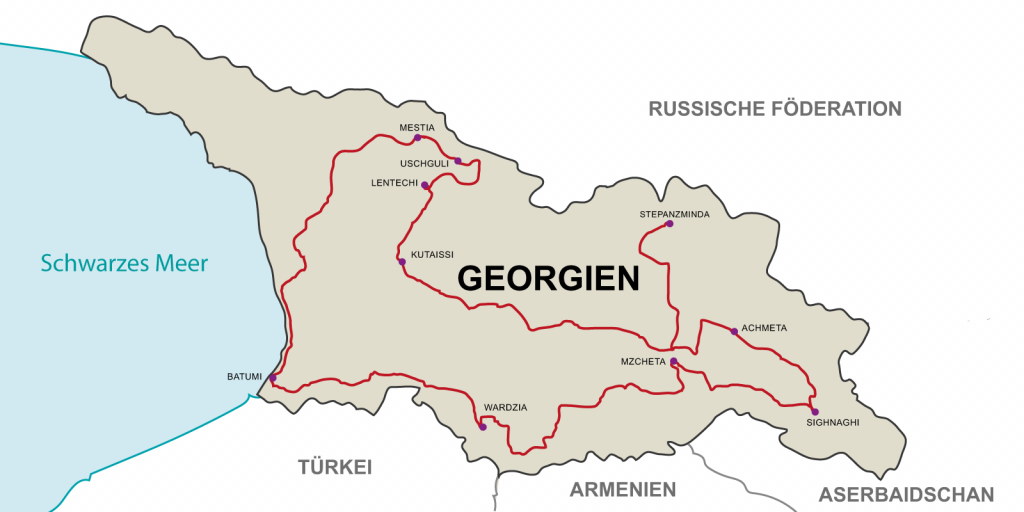 """12 days Motorcycle tour in Georgia: """"Friendship, Culture, Nature""""."""