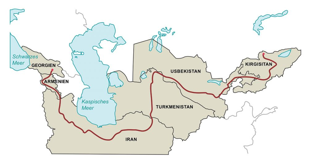 """Motorcycle tour Silk Road – """"In the footsteps of the caravans"""""""